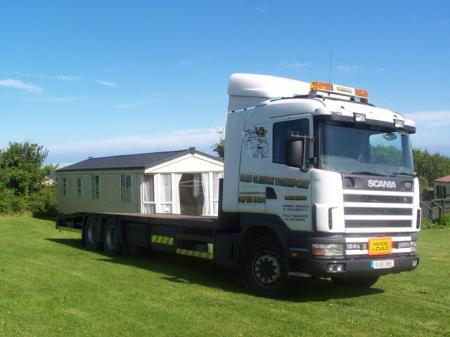 Buy And Transport Mobile Home From Gleesons Holiday Park Ireland