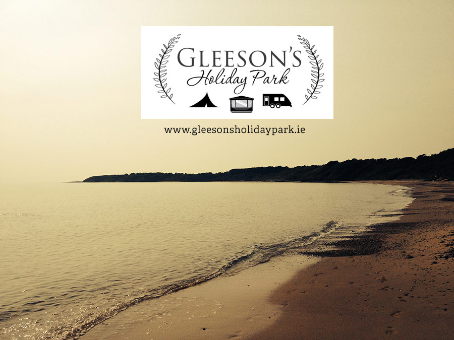 Beaches in County Wicklow & Wexford Recommended by Gleeson's Holiday Park, Clogga