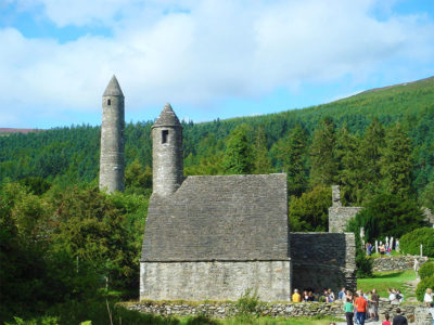 Visit Glendalough during your stay at Gleeson's Holiday & Mobile Home Park, Clogga, Wicklow.